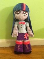 Commission: Equestria Girls Twilight Plush by Chanditoys