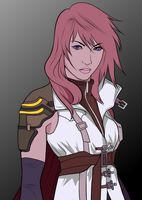 February Drawing - Lightning (Claire Farron) by TRDaz