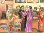 Wizards, Wands, and Coffee by nighttimesymphony