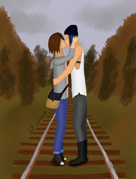 Life is Strange Max and Chloe by datcarovieh