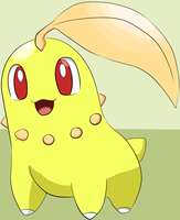 Shiny chikorita colouration by Sevslover6195