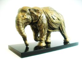 Elephant Animal Sculpture by martsartsculptures