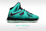 Nike Lebron X+ 'South Beach' by BBoyKai91