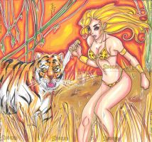 More Sheena Cards 031911 by raccoon-eyes