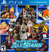 PlayStation All-Stars: Battle Stadium: Cover by LeeHatake93