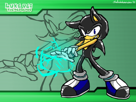 CM: Luke Vei the hedgehog Sonic battle wallpaper by shadowhatesomochao