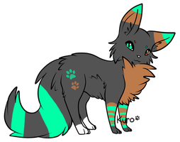 Cat Adoptable! *closed* by Ziega-Doptables