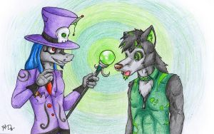 The master of hypnosis by danwolf15