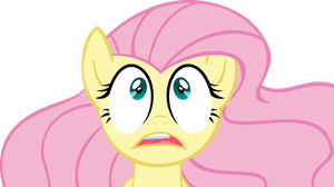VECTOR - Surprised Fluttershy by Jailboticus