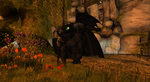 Night Fury / Toothless Muscle Mod by shadowwolf34965