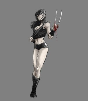 X-23 training clothes by NotDan
