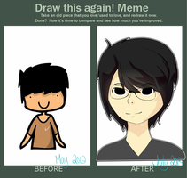 Draw This Again by jomzypuff