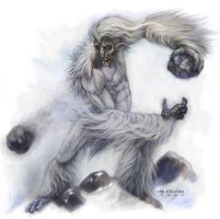 Windigo by artist-of-souls