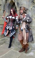 Captain Jack and Fem Assassin (5) by masimage
