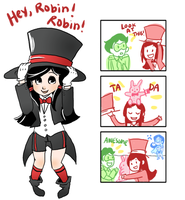 Loli Zatanna Strikes Again by Clazziquai