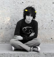 Karkat Vantas Cosplay : FUCK by Khainsaw