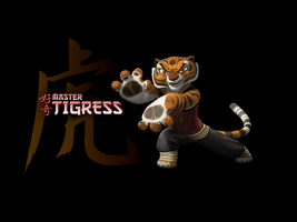 Master Tigress Wallpapers by xonxt