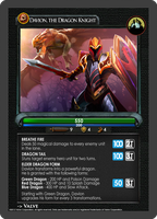 Dota2 TCG - Dragon Knight by goldenhearted