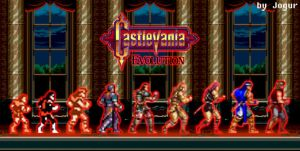 Castlevania Evolution by Jogur