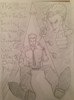 John Constantine Tribute by MichaeltheArchangel1