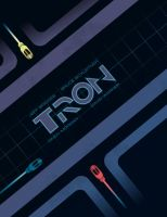Tron poster by Deimos-Remus