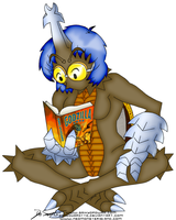Megan, the Bookworm by SonGoharotto