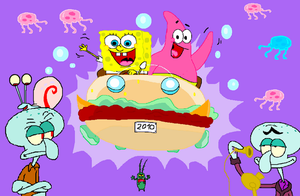 SpongeBob SquarePants Rulez by HeinousFlame