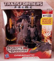 Transformers Prime Voyager Dreadwing by ThunderCougar
