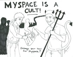 Myspace is a Cult by Flareia