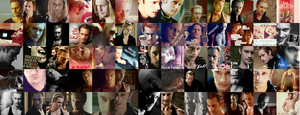 Eric Northman Collage by WillaWalo