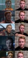 Starlord Expressions by GingerBaribuu