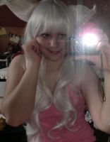 New white wig with ears 1 by Bellaju