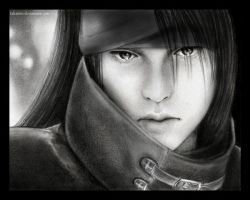 FF7: Vincent Valentine sketch by Takamin