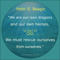 Peter S. Beagle Quote by Mulluane