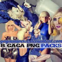 Lady Gaga PNG Pack5 by gagauniverse