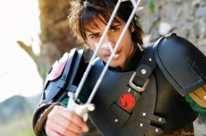 Hiccup - HTTYD2 - Dragon Sword by AlexanDrake89