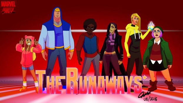 Skratchjams: The Runaways by meirol