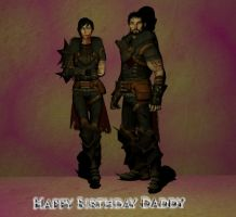 Happy Birthday Daddy! 1 by Lyssa-Nivans