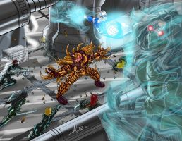 T and Capt vs KoA by Alex by Thornster