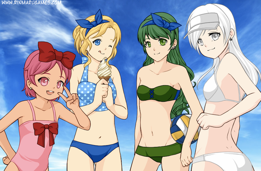 day at the beach by SepticSam99