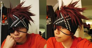 Cosplay WIP - Lavi wig by red-cluster