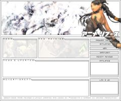 Anime Reviews Layout V.II by XerroDeath