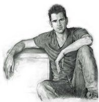 Colin Farrell by ekota21