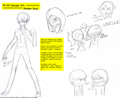 Concept Art Shadow Souji P4OC by otaku-hime95