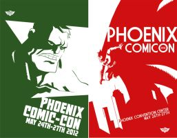 Phoenix Comic-Con 2012 Prints by ryancody