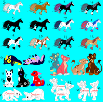 Group Adoptables: Open by liongirl2289