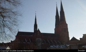 Uppsala Cathedral by Daniel-Venice