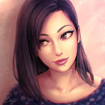 Beauty Portrait by umigraphics