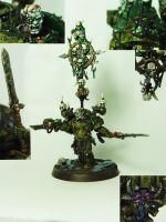 Death Guard Plague lord by cyphercodicer2