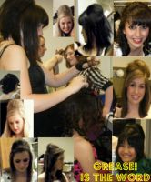Hair and Makeup for GREASE by AphoticBlight
